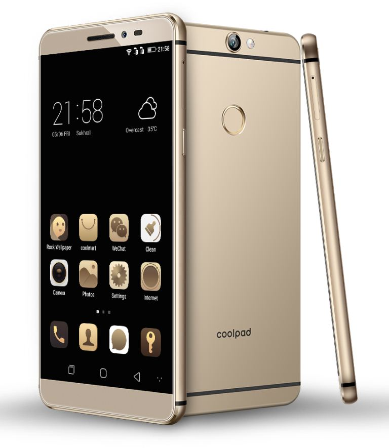 Coolpad Max, Multitasking Phone Berdesain Bodi Full Metal