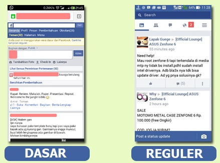 Cara Download Aplikasi Facebook Versi Lama Anti Lemot Android Ringan